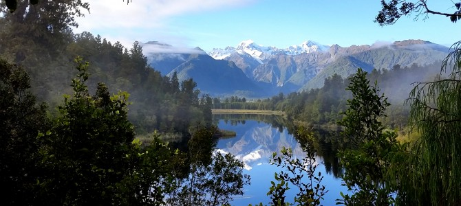 New Zealand – Westland (Westport, Hokitika, Franz Josef, Fox Glacier, Lake Matheson, Oparara Basin)