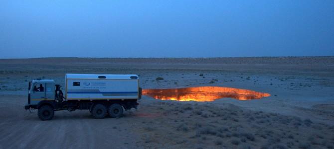 Turkmenistan – Ashgabat & Darvaza Gas Craters & Konye Urgench