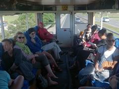 Truck life (Connie, Lars, Scuba Gill, Kevin, Gungi, Daniel, Gill, Helen, Becky & Denise)