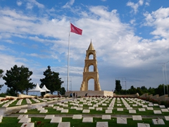 Turkish cemetery; Gallipoli
