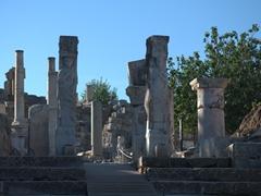 2nd century AD Hercules gate; Ephesus