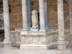 Detail on Hierapolis Theater