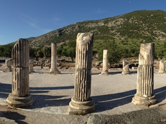 We were the first tourists to arrive to Ephesus and had the entire site to ourselves for the first hour!