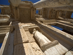 The phenomenal Celsus Library, Ephesus' most famous monument