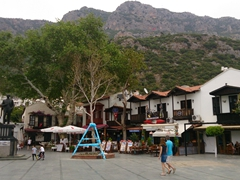 Main square in Kas, a small fishing and tourist village