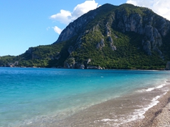 Beautiful beach at Olympos