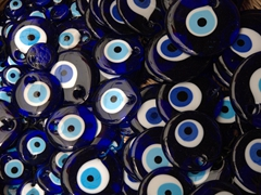 Nazar Boncugu - blue evil eye amulets used for protection against bad luck