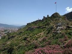 Byzantine Fortress ruins; Fethiye