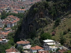 Fethiye's Lycian rock tombs