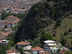 Fethiye's Lycian rock tombs