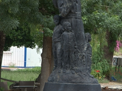 St Nicholas statue in Demre