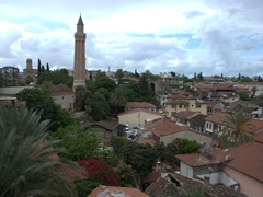 Skyline of Old Antalya