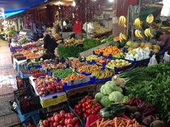 Fethiye fruit and vegetable market