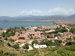 View of Fethiye from the Byzantine Fortress