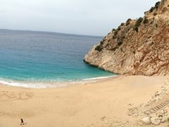 A quick stop at Kaputas Beach on our drive from Saklikent Gorge towards Kas