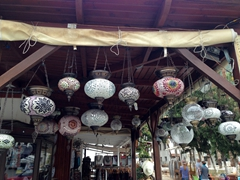 Lanterns galore; Kas