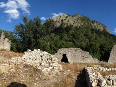 Lycian ruins at Olympos