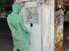 Lidya Bank statue; Antalya