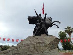 Ataturk monument, Antalya