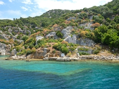 More views of Kekova sunken city