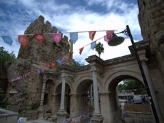 Hadrian's Gate; Antalya