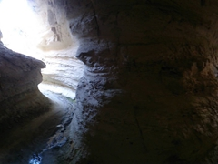 One of several tunnels we hiked through to get to Rose and Red Valley; Cappadocia