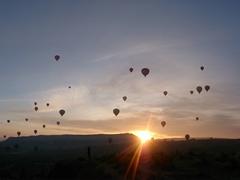 Sunrise over Cappadocia