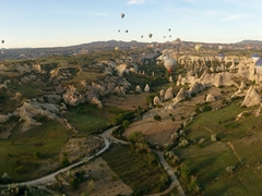 Cappadocia hot air balloon ride - definitiely on the 1001 things to do before you die bucket list!!!