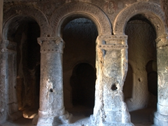 Arches in Selime Cathedral