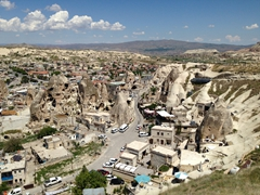 Heading back to Goreme for lunch