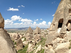 Uchisar - one of Cappadocia's prettiest regions!