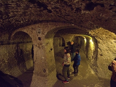 Lots of rooms to explore in Derinkuyu underground city