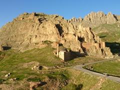 Fortress ruins; Dogubayazit