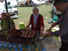 Yummy kofte for sale; Kilickaya bull festival