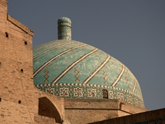 Jameh Mosque detail; Qazvin