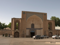Ali Qapu Gate, a 16th century gateway to the forbidden inner city of Qazvin