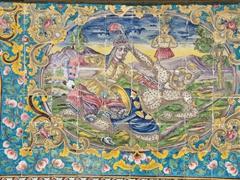 Golestan Palace detail