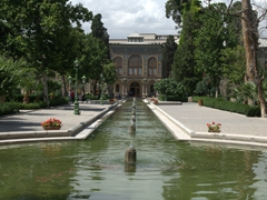 Fountain; Golestan Palace
