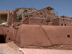 Abyaneh - a rose colored village popular with tourists