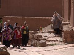 Abyaneh village scene