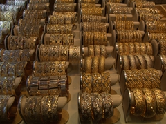 Gold for sale; Tabriz Bazaar