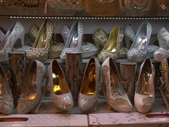 Wedding shoes shop; Tabriz Bazaar
