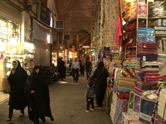 Getting lost in the Tabriz Bazaar