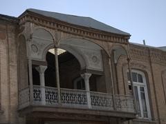 Intricate balcony; Tabriz