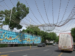 Tabriz street decorations