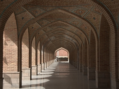 Archways; Tabriz Blue Mosque