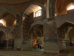 Interior of the Blue Mosque, Tabriz