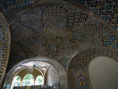Dome detail; Golestan Palace