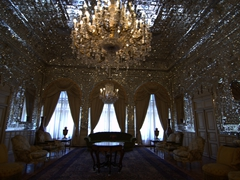 Another view of Golestan Palace's Mirror Hall