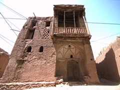 Interesting architecture in Abyaneh